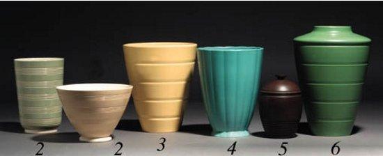 Keith Murray Wedgwood Vase Vase And Cellar Image Avorcor