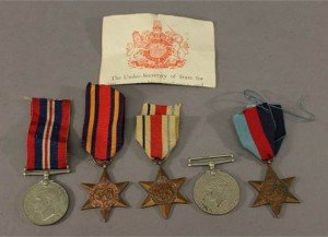 A world war two medal group