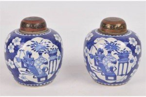 Chinese ginger jars