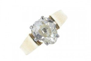 single-stone ring