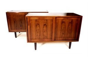 rosewood cabinets