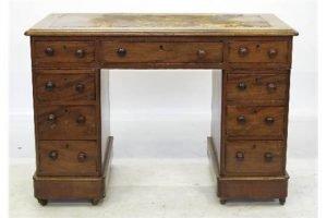 pedestal desk,
