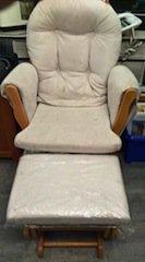 nursery armchair