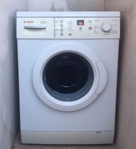 washing machine.