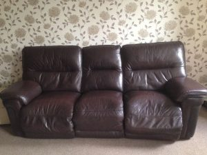 reclining sofa,