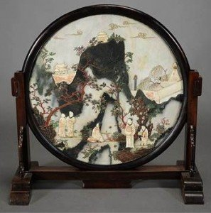 Marble Table-Screen