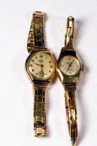 ady's wristwatch