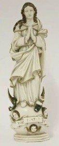 ivory figure of Madonna