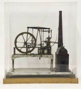stationary steam engine,