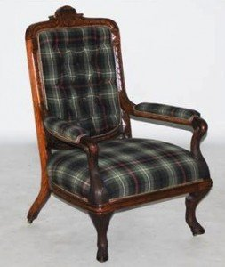 Stags leg armchair