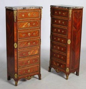marble top chests