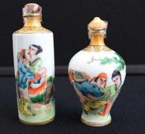 oriental snuff bottles