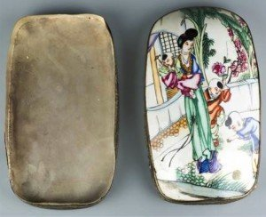 Porcelain Chinese Box
