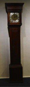 oak longcase clock