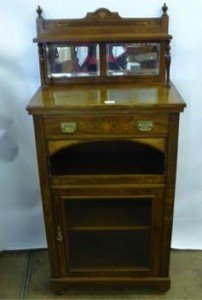 Rosewood Music Cabinet