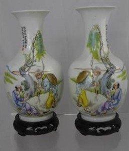 Famile Rose Vases