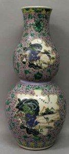 double gourd porcelain vase