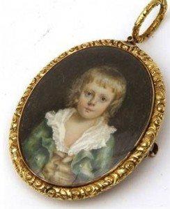 Victorian Portrait Pendan