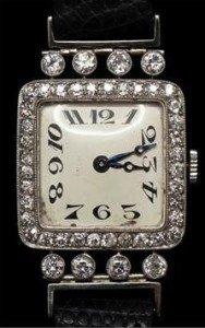 diamond encrusted wrist watch t