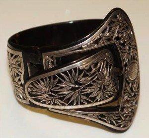 belt and buckle bracelet