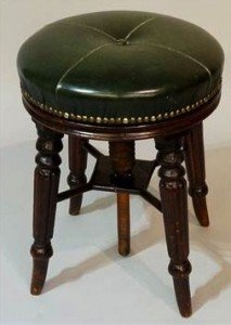 revolving piano stool