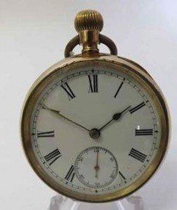 keyless Pocket Watch