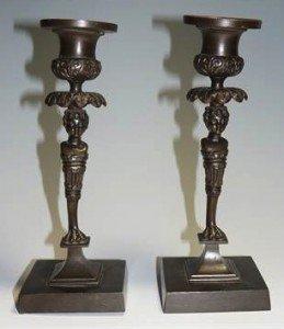 monopodiae candlesticks