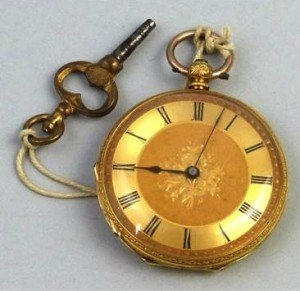 Victorian fob watch