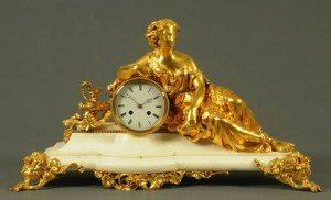 ormolu mantle clock