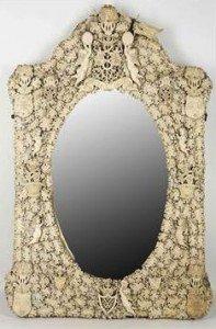 Dieppe style mirror