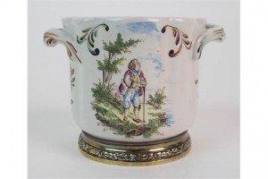 porcelain cache pot