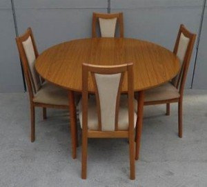 Wood Effect Dining Table