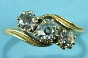 metal brooch