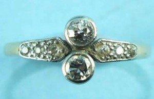 Edwardian diamond ring