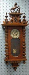 beech wall clock
