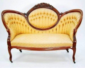 double ended settee