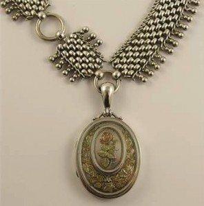 Victorian locket
