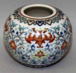 porcelain water pot