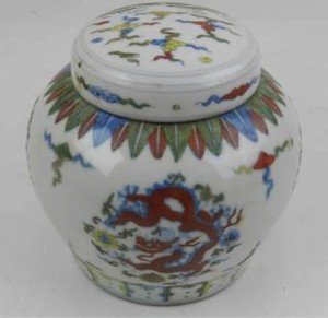 ginger jar and cover