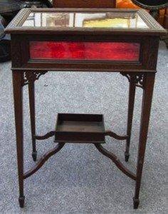 carved rectangular vertu table