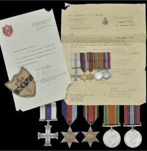A Second World War 'Burma Campaign' M.C. group