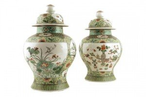 baluster vases and covers