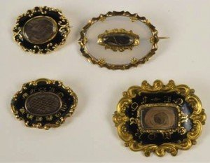 mourning brooches