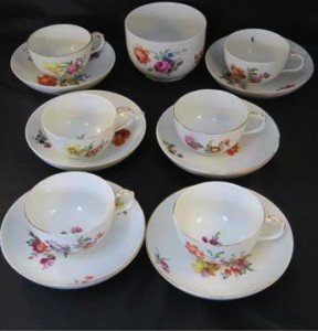 set of Berlin porcelain