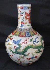 bulbous vase