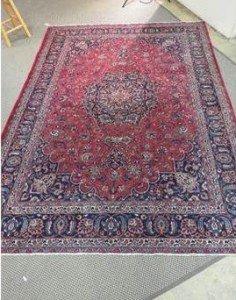 woollen Kashan carpet