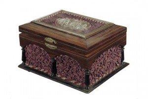 rosewood musical box