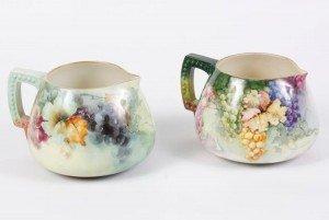 Lenox cider pitchers