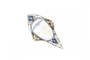 sapphire dress ring