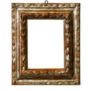 Carved and Silvered Frame